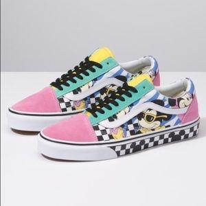 NWT Disney x Vans Old Skool Shoes